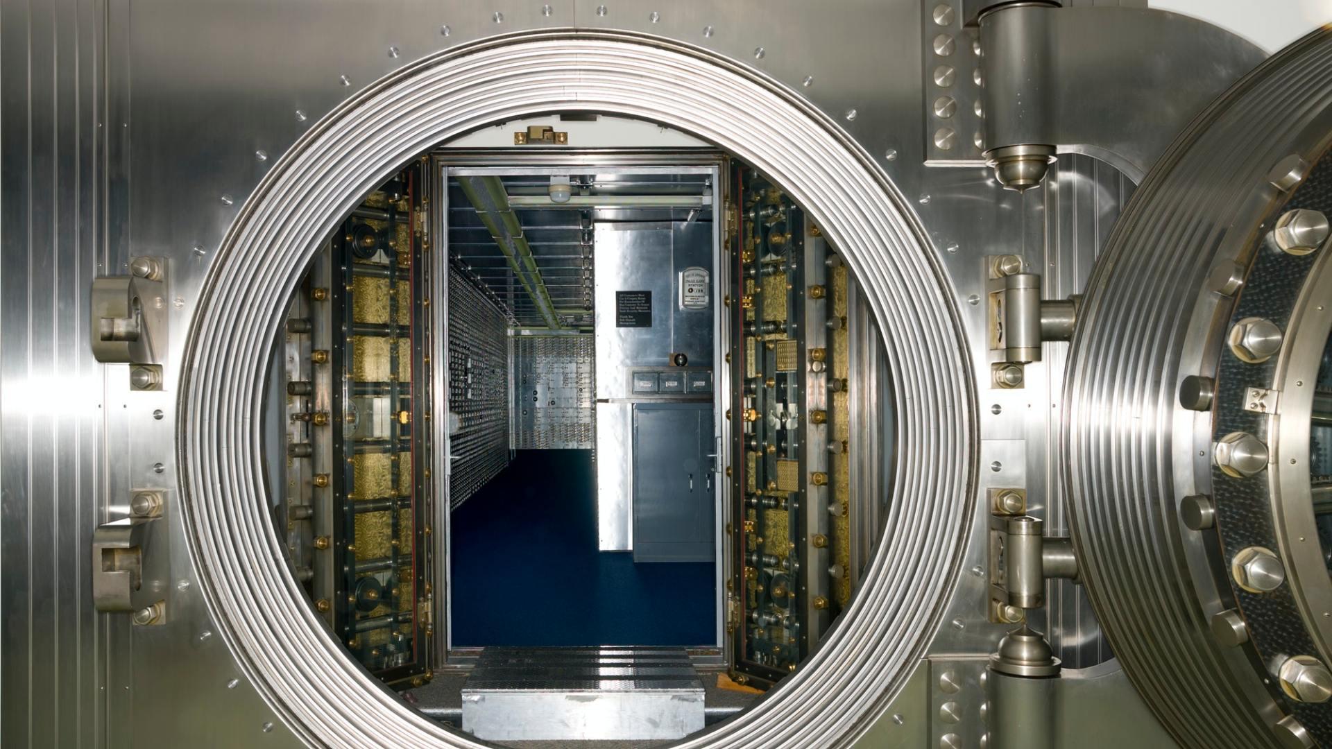 Bank Vault Interior